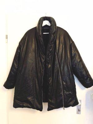 Bik Bok Faux Leather Jacket black