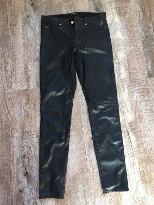 Kunstlederhose schwarz H&M