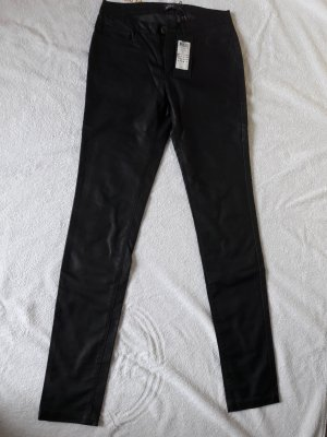 Only Pantalone in pelle nero