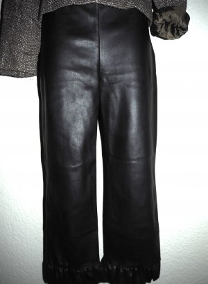 Zara Woman Pantalone culotte nero Poliestere