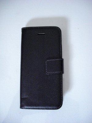 Étui pour téléphone portable noir synthétique