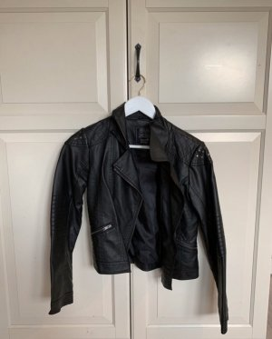 C&A Faux Leather Jacket black