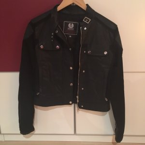 Belstaff Faux Leather Jacket black