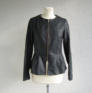 Kunstlederjacke / Blazer / Leichte Jacke von Amisu New Yorker in Gr. 36