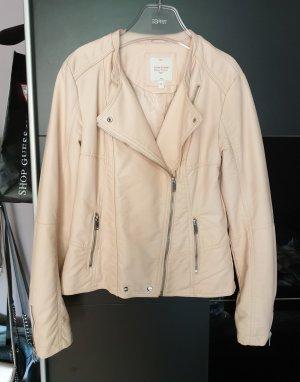 Clockhouse Faux Leather Jacket pink
