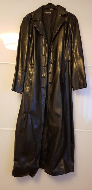 Kunstledermantel schwarz, Gothic Style