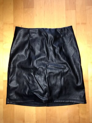 Asos Leather Skirt black