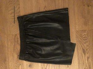 Vero Moda Leren rok zwart
