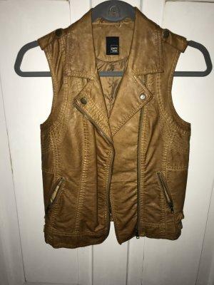 Pimkie Leather Vest brown