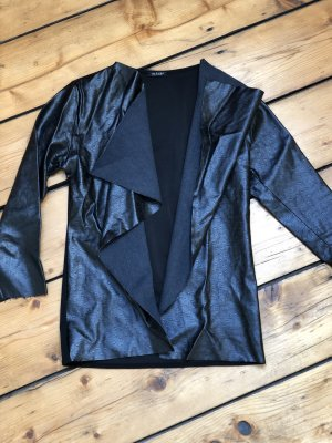 Leather Vest black