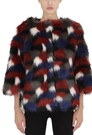 Colmar Giacca di pelliccia multicolore