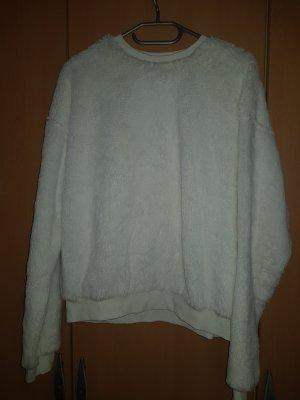Kunstpelz Pullover