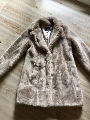 Rino & Pelle Cappotto in eco pelliccia argento