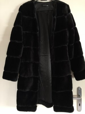 Reserved Manteau de fourrure noir