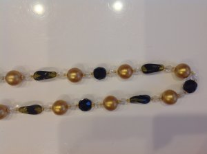 Collar multicolor Material sintético
