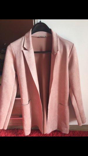 Kunstwildleder Mantel von Zara