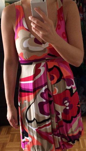 Kunterbuntes Sixties-Kleid von Hallhuber