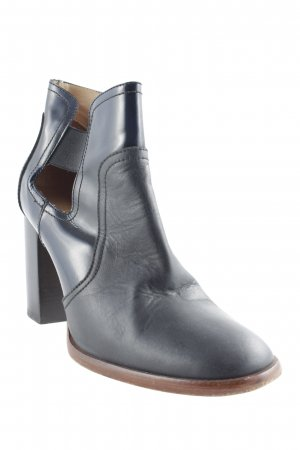 Kupuri Cut-Out-Stiefeletten dunkelblau Casual-Look