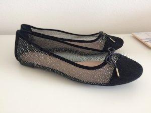 Kurt Geiger Carvela Ballerinas 41 neu schwarz Schuhe