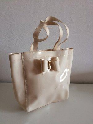 Kurt Geiger Carvela Handtasche neu beige nude mit Schleife