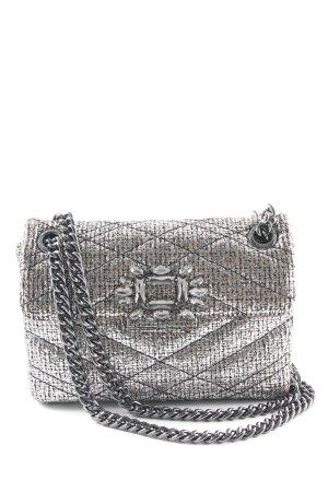 Kurt Geiger Mini Bag silver-colored-black party style