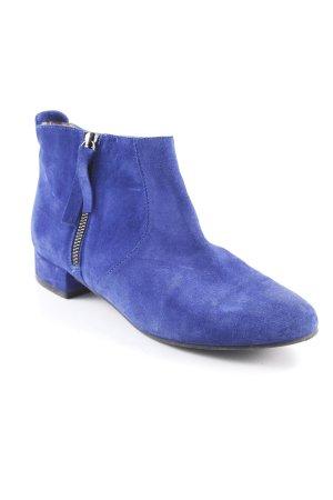 Kurt Geiger Reißverschluss-Stiefeletten blau extravaganter Stil