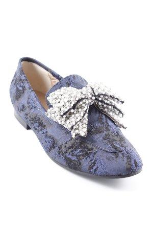 Kurt Geiger Slip-on Shoes dark blue-black Bow detail