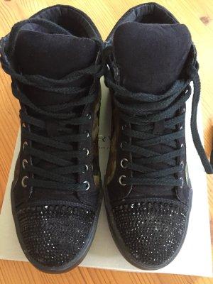 Kurt Geiger High Top Sneaker black