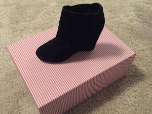 Kurt Geiger Wedge Ankle Boots Black