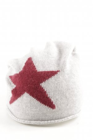 Kurt Kölln Beanie white-red athletic style