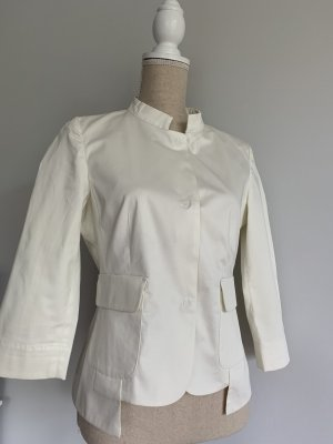 Apriori Short Blazer natural white cotton