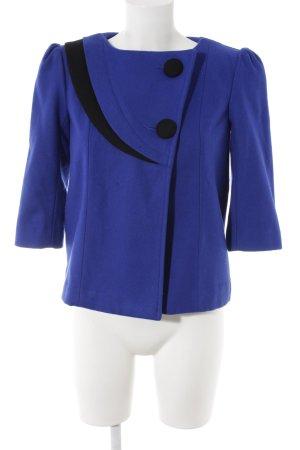 Kurz-Blazer blau-schwarz Business-Look
