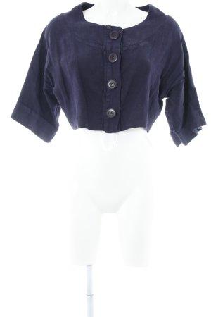 Kurz-Blazer dunkelviolett Elegant