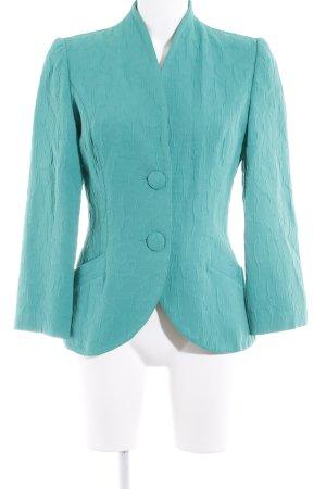 Kurz-Blazer mint Ornamentenmuster Business-Look