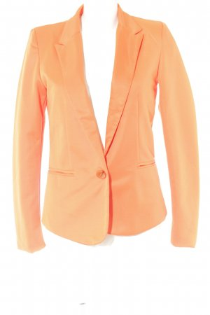 Kurz-Blazer orange Casual-Look
