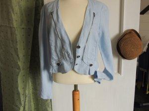 Kurz-Blazer passend zum Leinenkleid