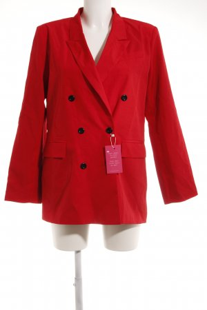 Kurz-Blazer rot Business-Look