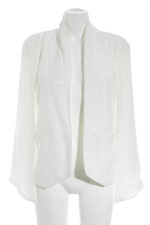 Kurz-Blazer weiß Elegant