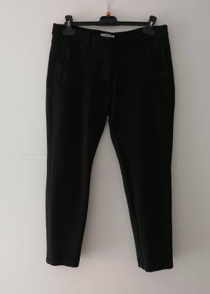 Kurz geschnittene elegante Hose schwarz von Geox (Gr. 38)