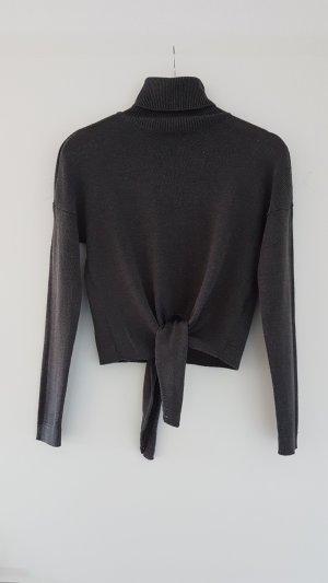 kurz geschnittener Rollkragen Pullover zum Binden von Only Gr. S