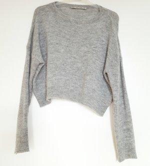kurz geschnittener Wollpulli von Zara