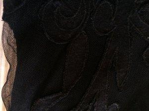 Kurz geschnittenes Shirt mit Tüll Einsatz