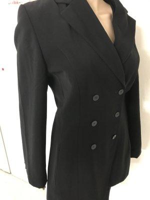 Long Blazer black polyester