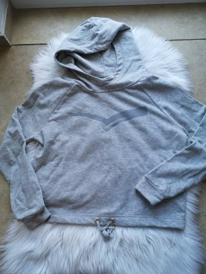 Venice beach Hooded Sweater light grey-grey