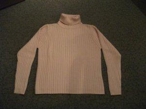 Kurz Rolli / Rollkragen Pullover von Barisal, Gr. 36, rosa