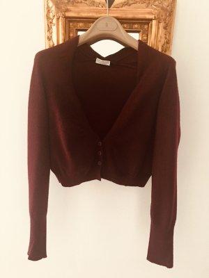 Brunello Cucinelli Knitted Cardigan carmine-bordeaux