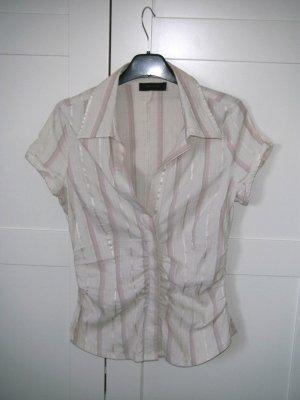 kurzärmelige Bluse, kurzarm, Kurzarmbluse, gestreifte Bluse, Vero Moda, Gr. S