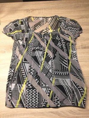 Kurzärmelige Bluse mit Top