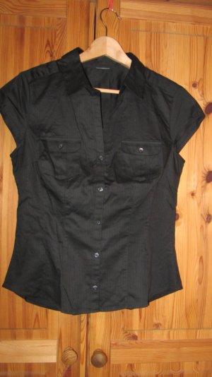 Kurzärmelige Bluse von Pimkie, schwarz – Gr. 38