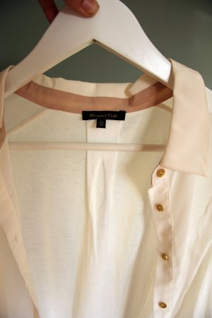 Kurzärmelige Hemd-Bluse von Massimo Dutti